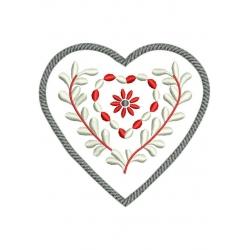 Petit coeur chalet alsacien