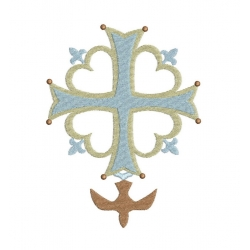 croix hugenote avec colombe