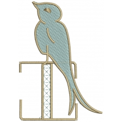 J Alphabet Hirondelle
