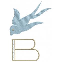 B Alphabet Hirondelle