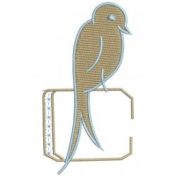 C Alphabet Hirondelle