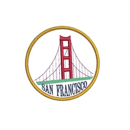Ecusson Golden Gate