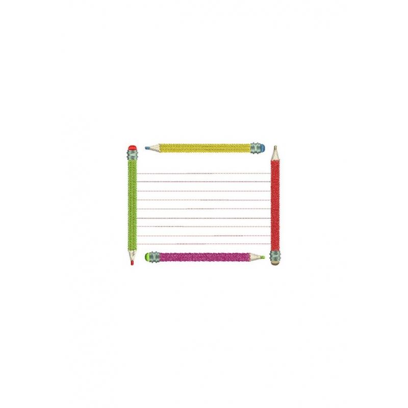 motifbroderie machine tiquette scolaire ciseaux crayon compas. Black Bedroom Furniture Sets. Home Design Ideas