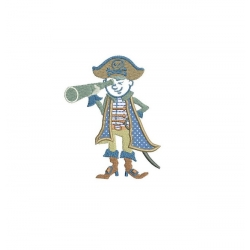 Pirate en appliqué