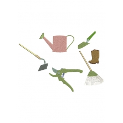 6 Outils jardin