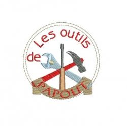 Ecusson outils