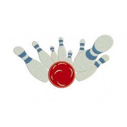Bowling XXL motif broderie machine