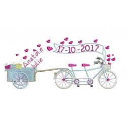 Mariage à vélo