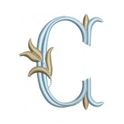 C alphabet Tulipe