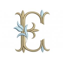 E Alphabet Tulipe