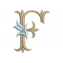 F Alphabet Tulipe