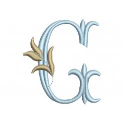 G Alphabet Tulipe
