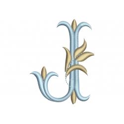 I et J alphabet Tulipe