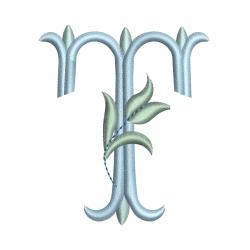 T alphabet Tulipe