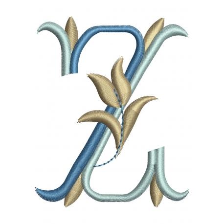 Lettre Z Alphabet Tulipe