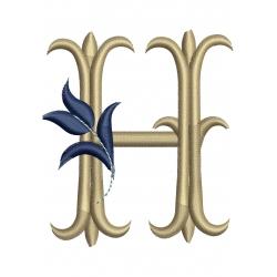 821 H Alphabet Tulipe