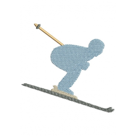 4 skieurs