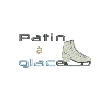 Logo Patin à glace