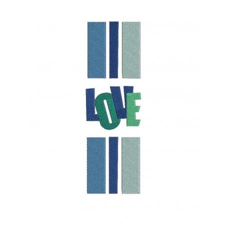 LOVE rayures basques et LOVE entourage