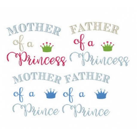 MOTHER et FATHER of a Prince & Princess