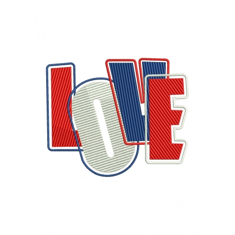 LOVE entouré