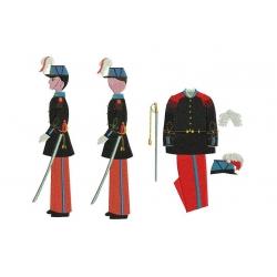 Saint Cyrien et son uniforme