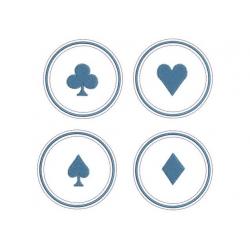 motif broderie machine jeu de cartes