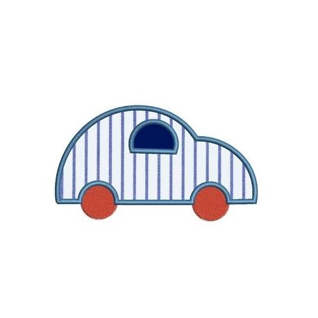 motif broderie machine voiture vintage appliqué