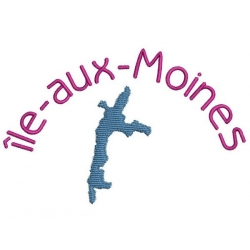 Carte de l'île-aux-Moines en mini