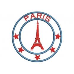 Ecusson Tour et sa tour Eiffel