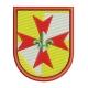 Ecusson insigne europa Scout motif broderie machine