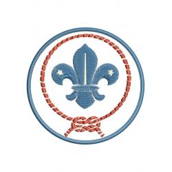Ecusson sur mesure Insigne Scouts de France