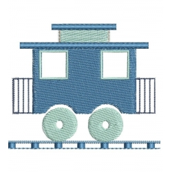 petit wagon broderie machine