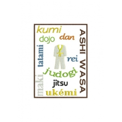 Phrases spécial Judo pour cadre 13x18
