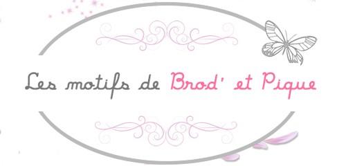 Les motifs de Brod' et Pique - Vente en ligne motifs broderie machine