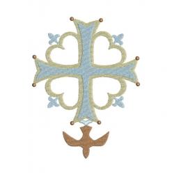 croix hugenote avec colombe