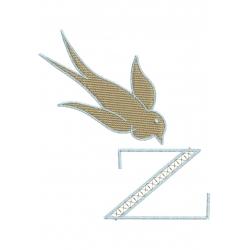 Z Alphabet Hirondelle