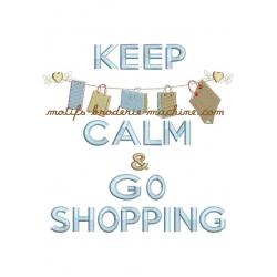keep calm farandole sacs