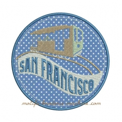 Tramway  SAN FRANCISCO appliqué