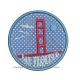 Golden Gate SAN FRANCISCO appliqué