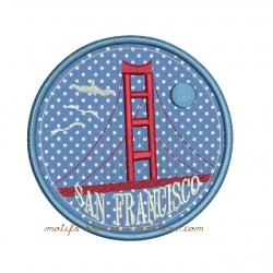 Golden Gate SAN FRANCISCO appliqué
