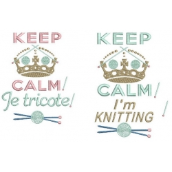 KEEP CALME tricot