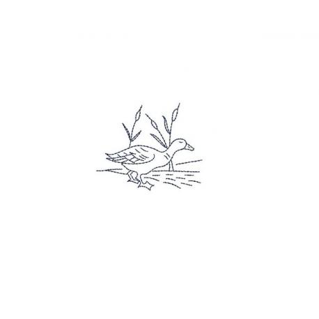 Canard en redwork