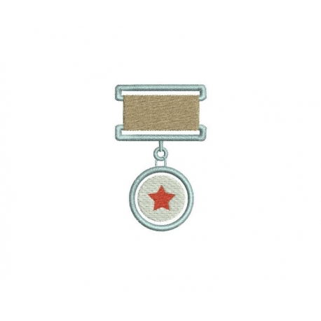 décorations militaires broderie machine