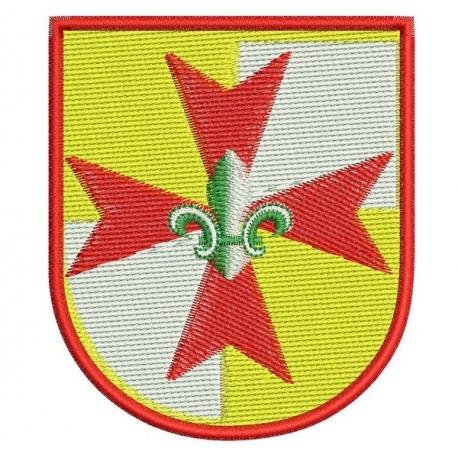 Insigne  scout Europa Scout motif broderie machine