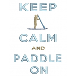 Keep Calm Paddle