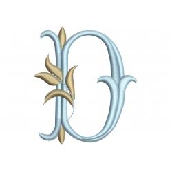 D alphabet Tulipe
