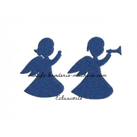 Angelots silhouette