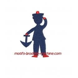 Silhouette Petit Matelot