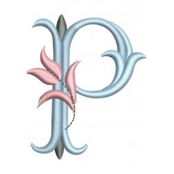 Lettre P Alphabet Tulipe